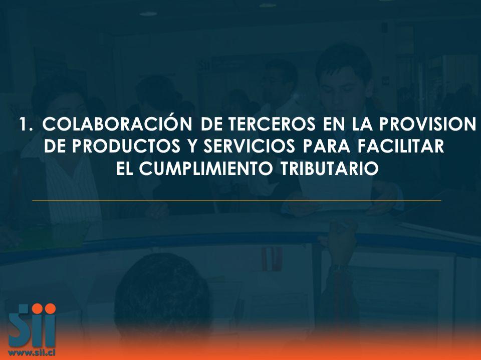 COLABORACIÓN DE TERCEROS EN LA PROVISION
