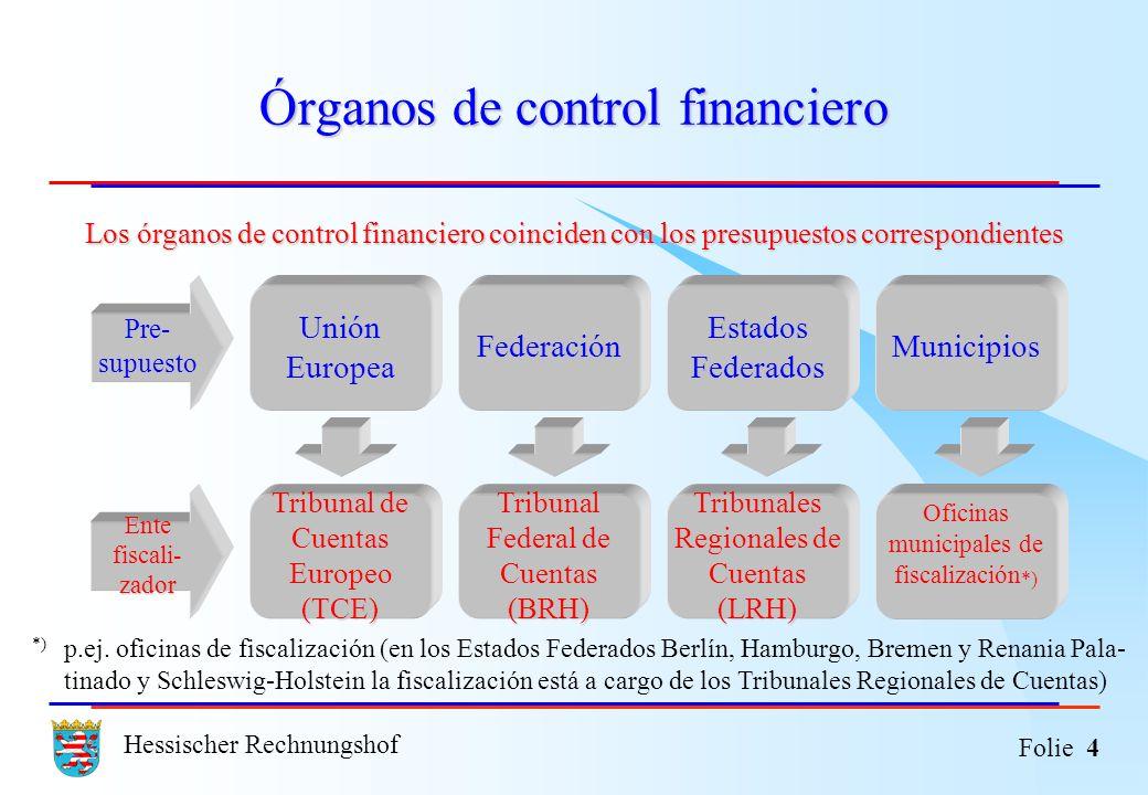 Órganos de control financiero