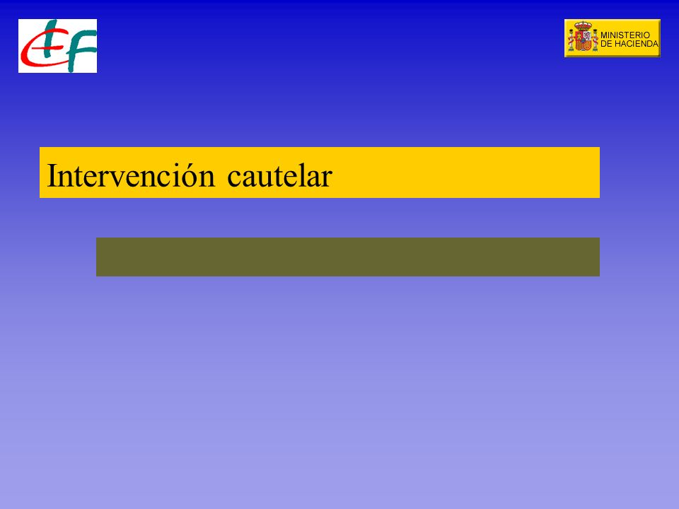 Intervención cautelar