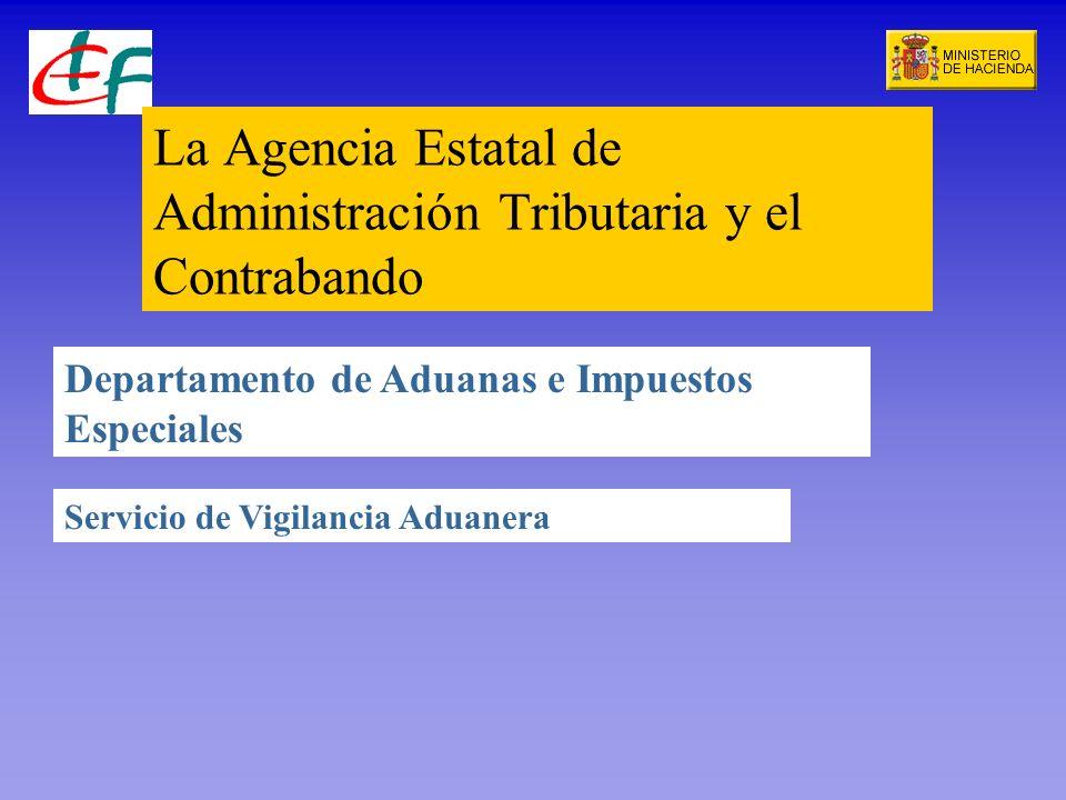 La Agencia Estatal de Administración Tributaria y el Contrabando