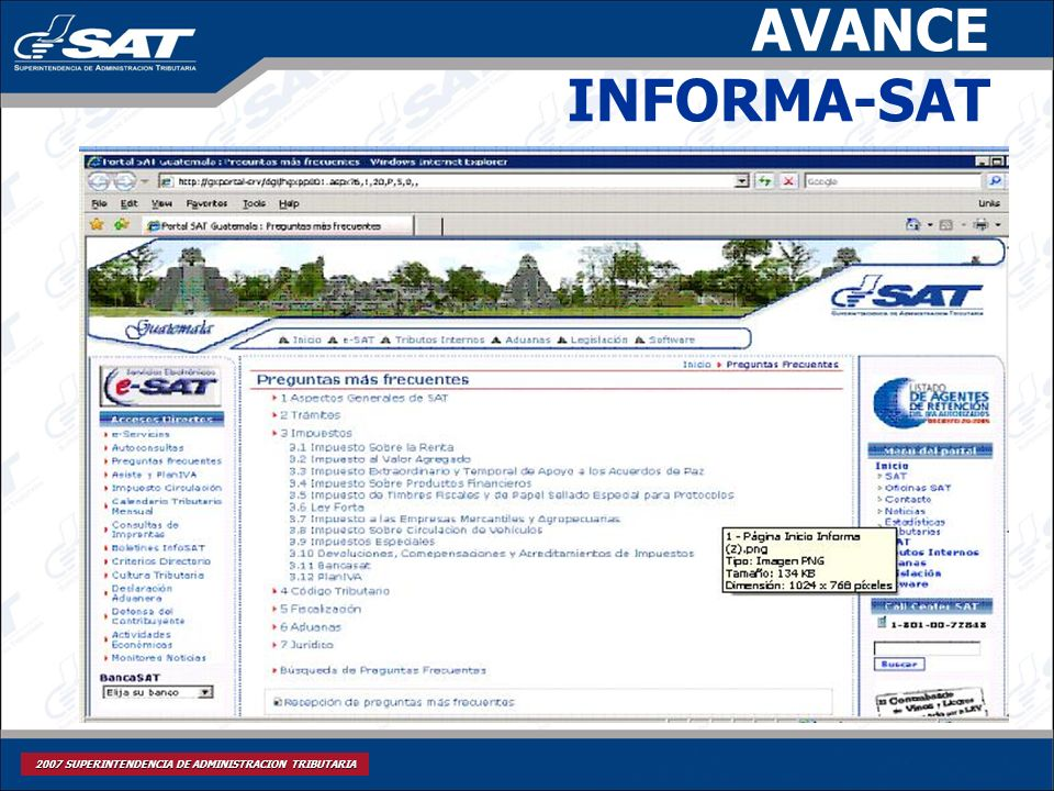 AVANCE INFORMA-SAT