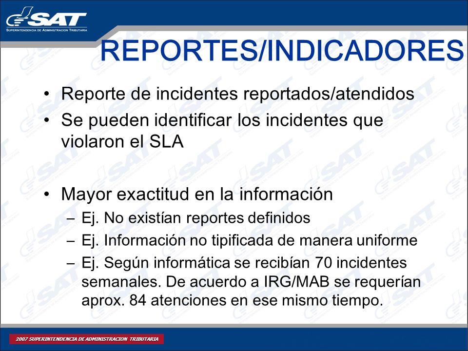 REPORTES/INDICADORES