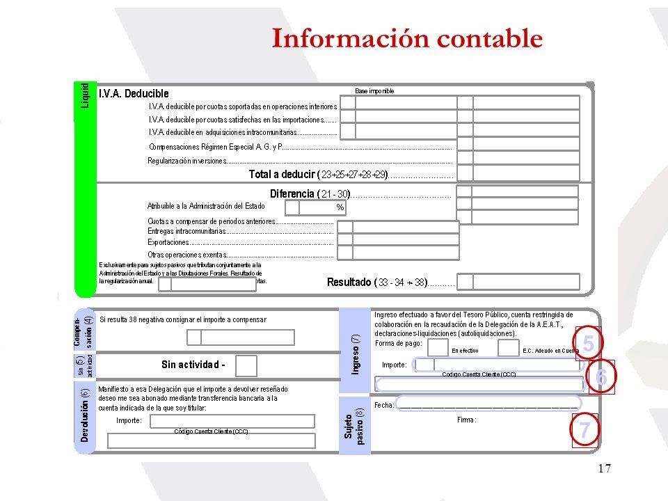 Información contable 5 6 7