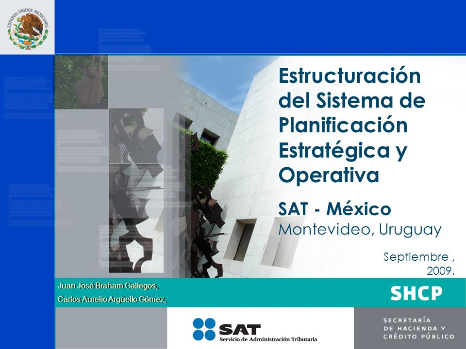 Estructuración del Sistema de Planificación Estratégica y Operativa