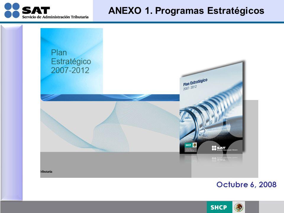 ANEXO 1. Programas Estratégicos