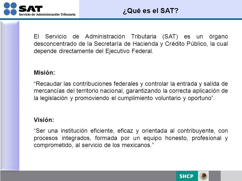 ¿Qué es el SAT