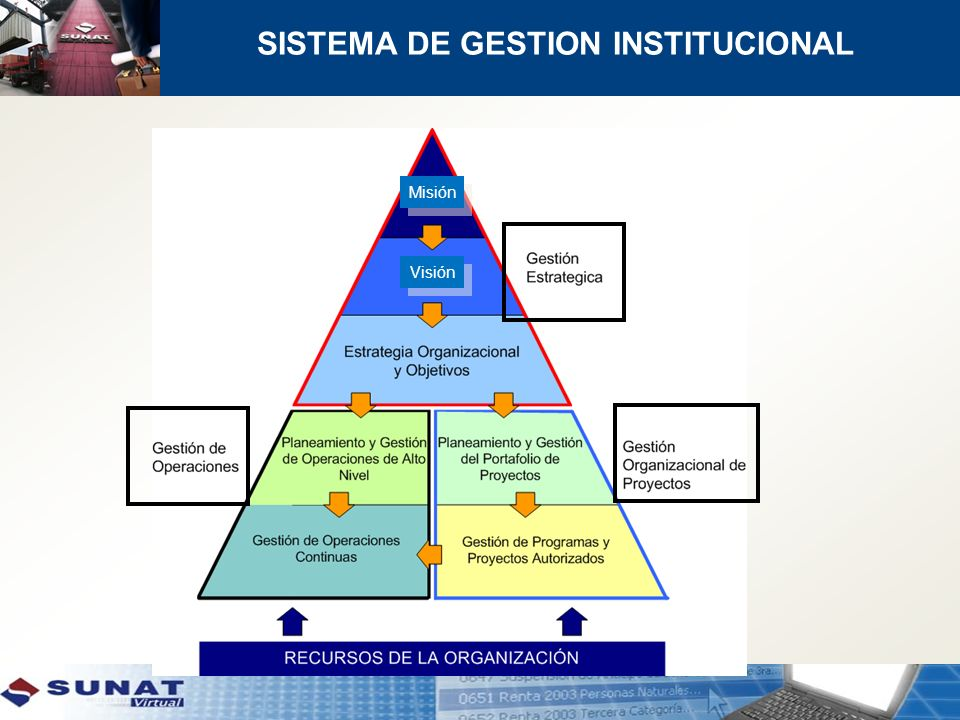 SISTEMA DE GESTION INSTITUCIONAL