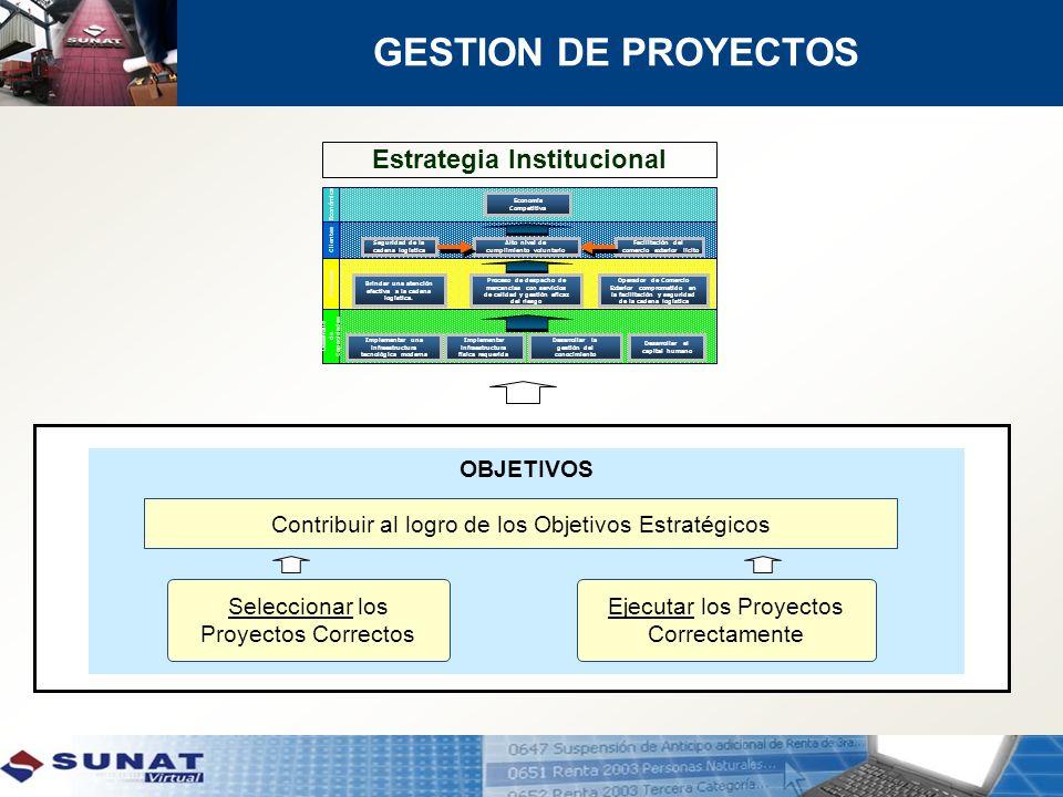 Estrategia Institucional