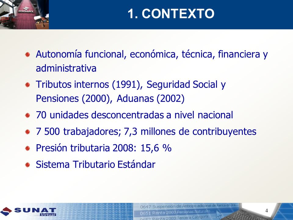 1. CONTEXTO Autonomía funcional, económica, técnica, financiera y administrativa.