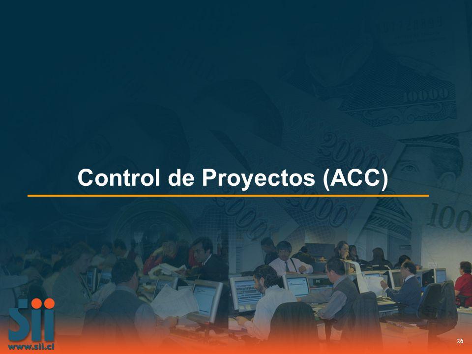 Control de Proyectos (ACC)