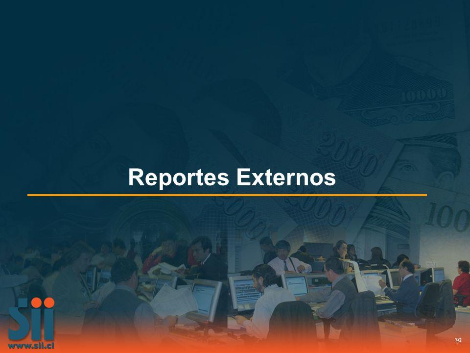 Reportes Externos