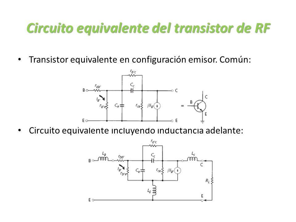 Circuito Transistor : Amplificadores rf pequeña señal ppt descargar