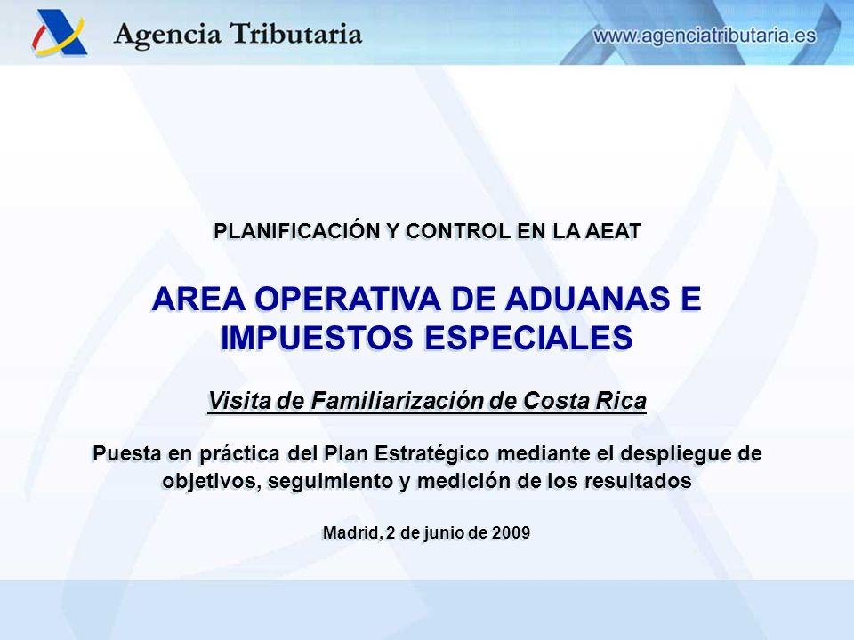 AREA OPERATIVA DE ADUANAS E IMPUESTOS ESPECIALES