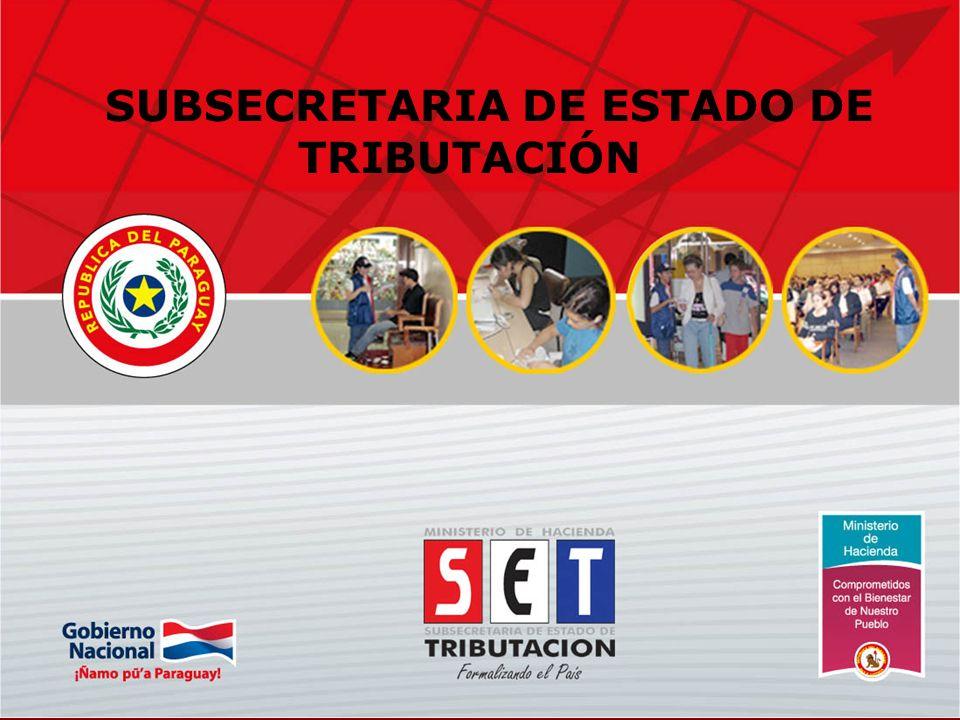 SUBSECRETARIA DE ESTADO DE TRIBUTACIÓN