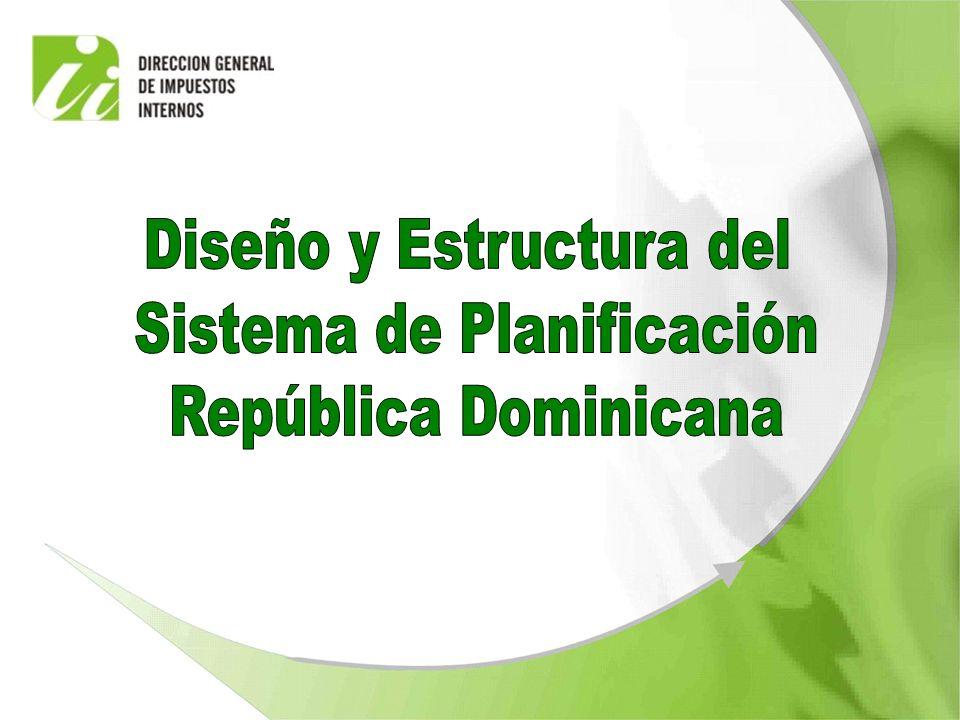 Diseño y Estructura del Sistema de Planificación República Dominicana