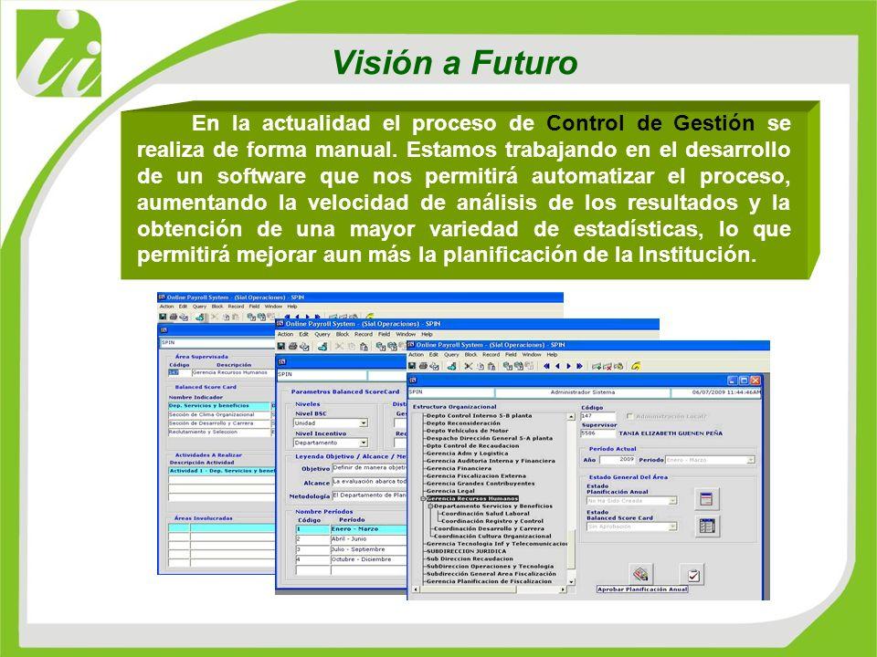 Visión a Futuro