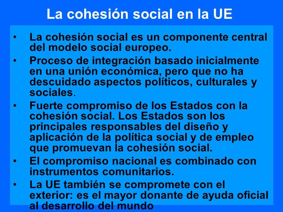 La cohesión social en la UE