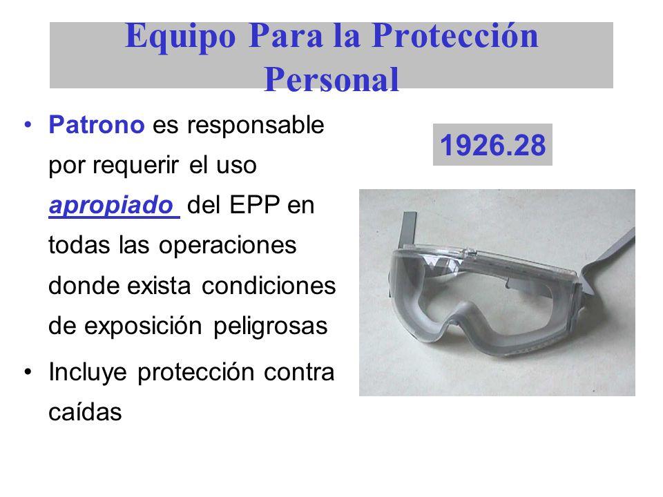Equipo Para la Protección Personal