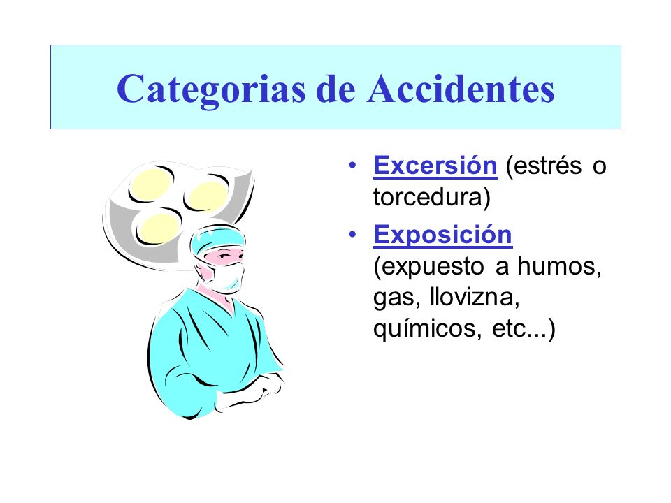 Categorias de Accidentes