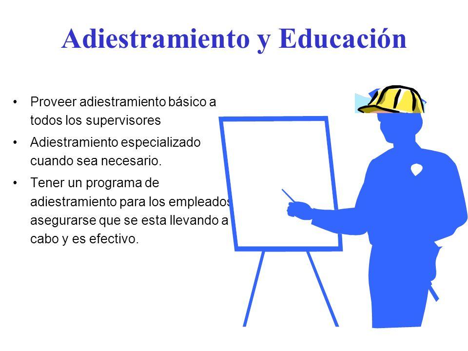 Adiestramiento y Educación