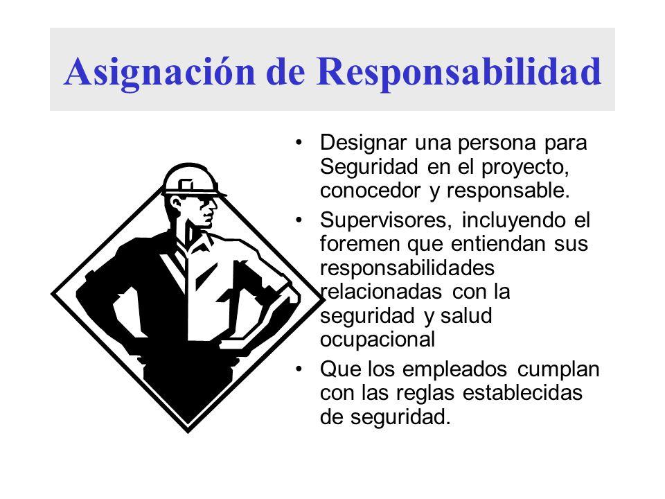 Asignación de Responsabilidad
