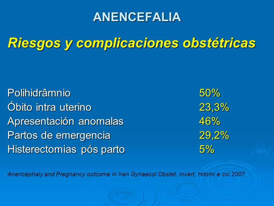 Riesgos y complicaciones obstétricas