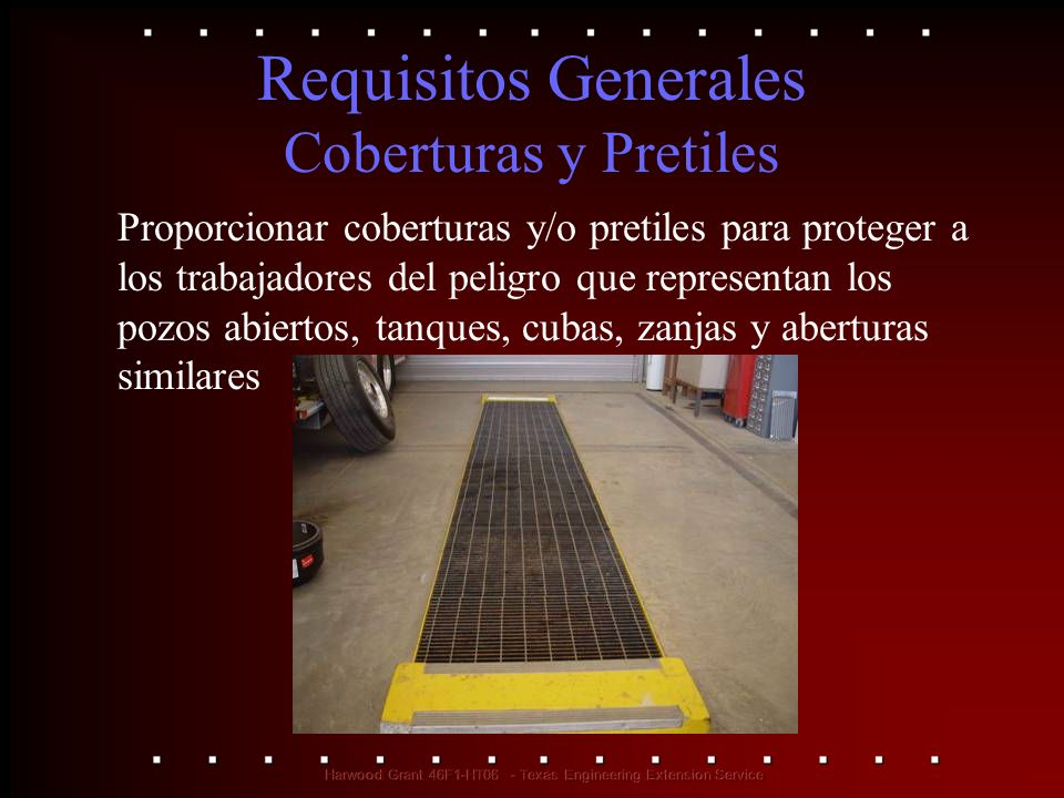 Requisitos Generales Coberturas y Pretiles