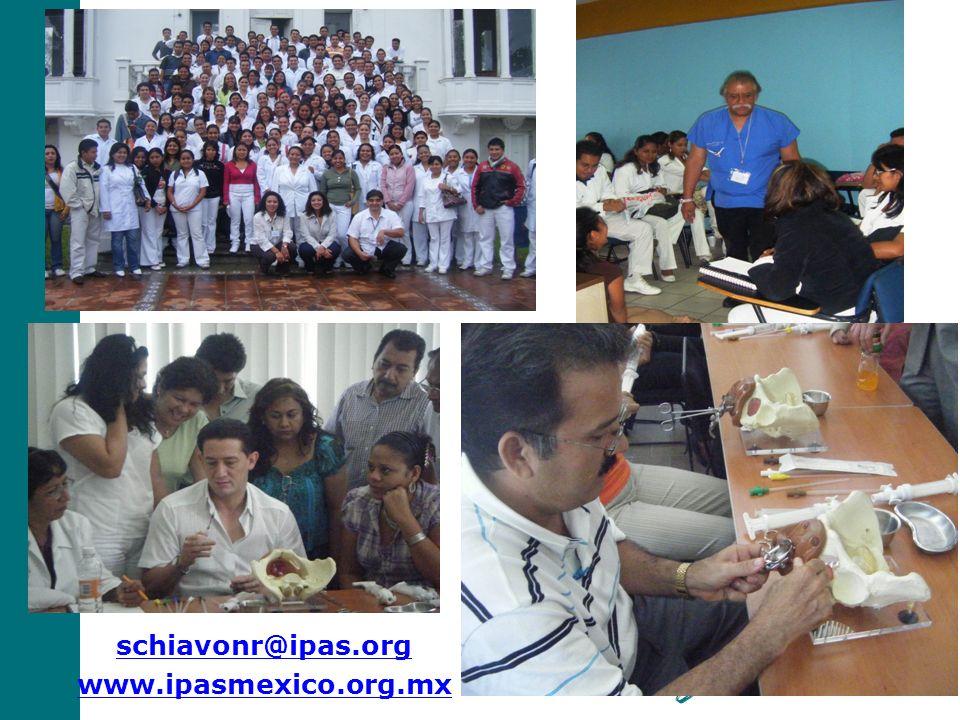 Gracias FOTO de Ipas. schiavonr@ipas.org www.ipasmexico.org.mx