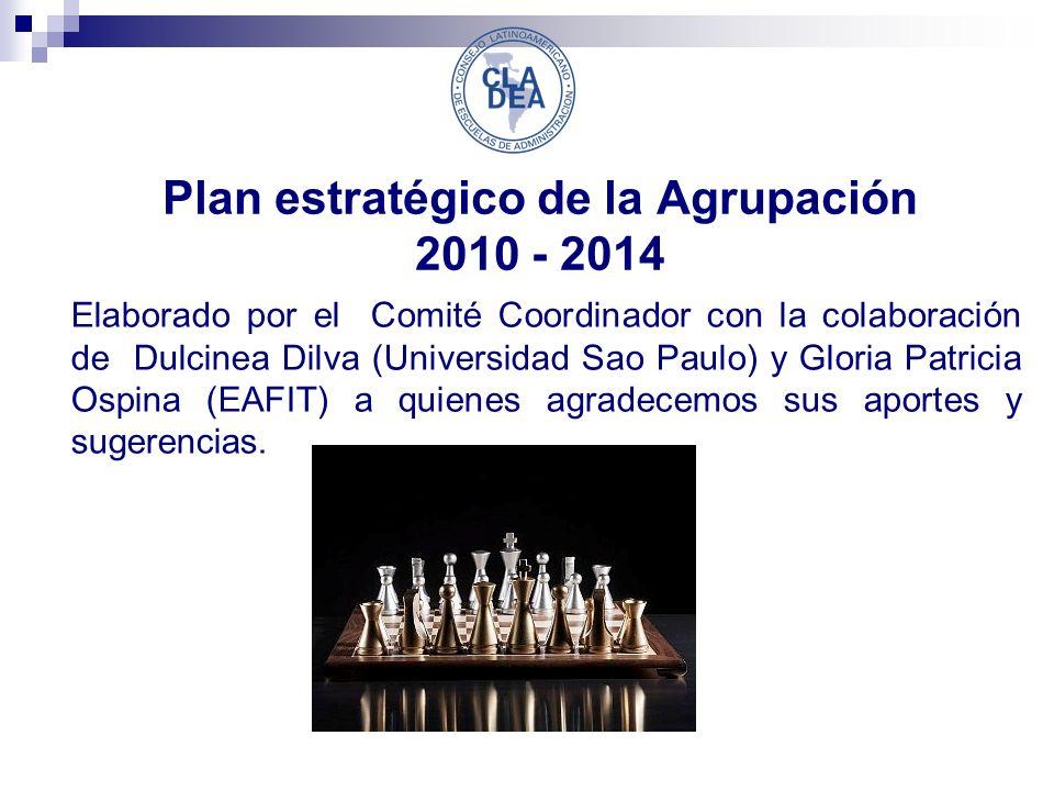 Plan estratégico de la Agrupación 2010 - 2014