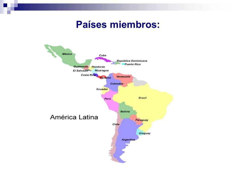 Países miembros: