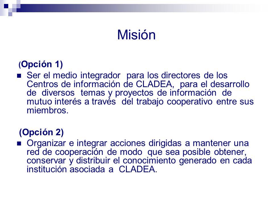 Misión (Opción 1)