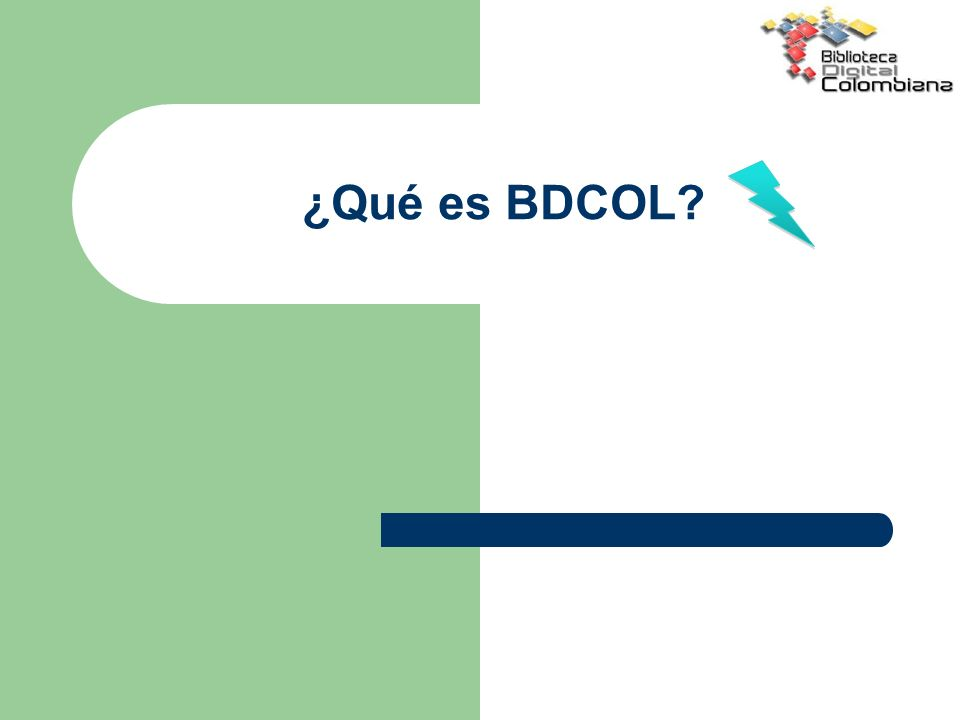 ¿Qué es BDCOL
