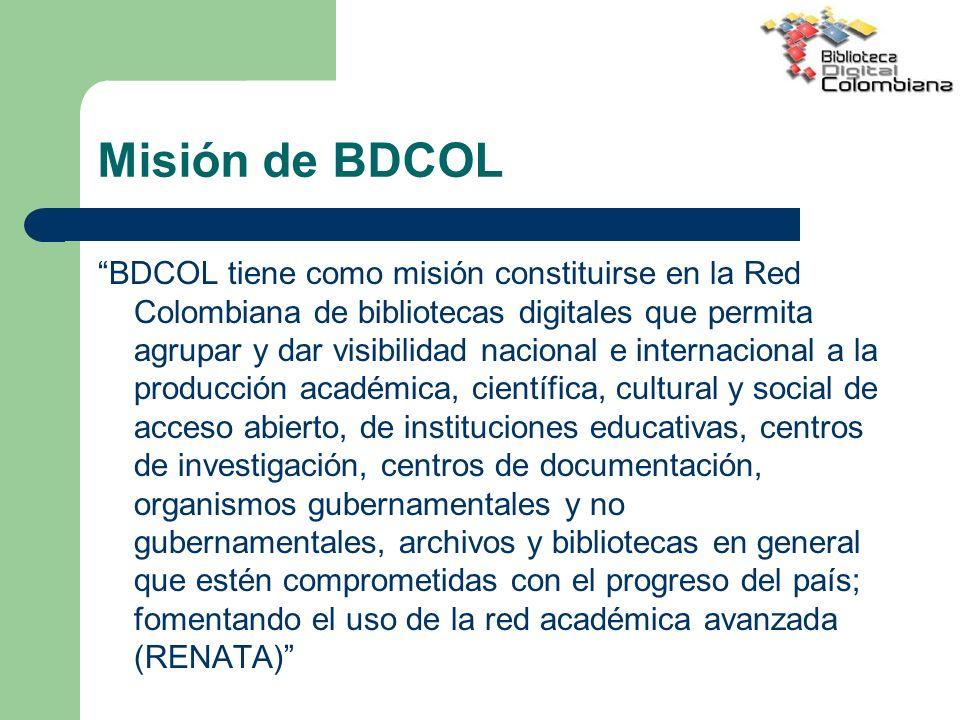 Misión de BDCOL