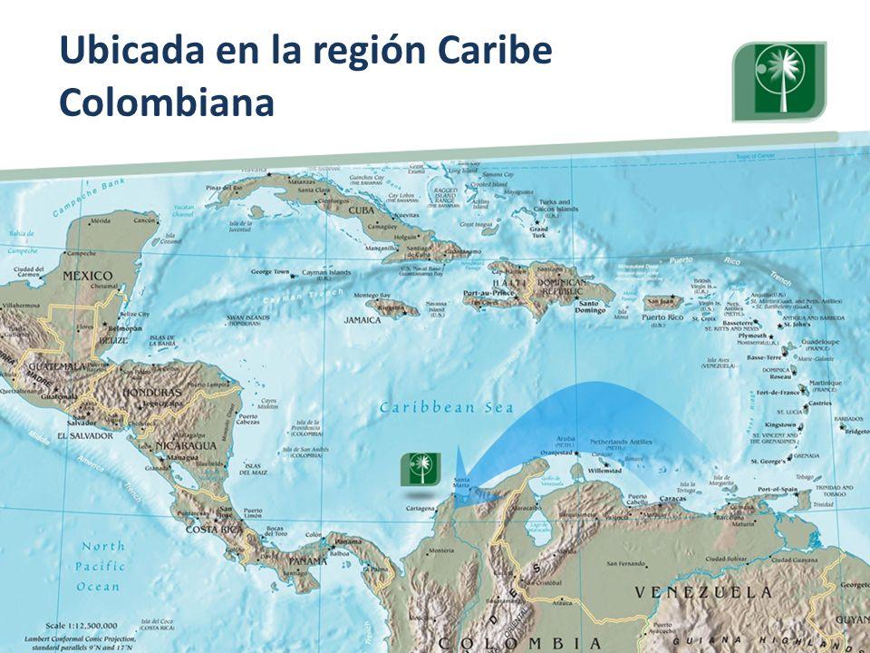 Ubicada en la región Caribe Colombiana