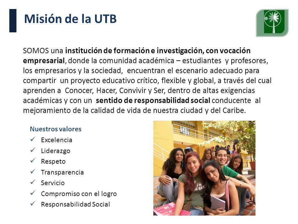 Misión de la UTB