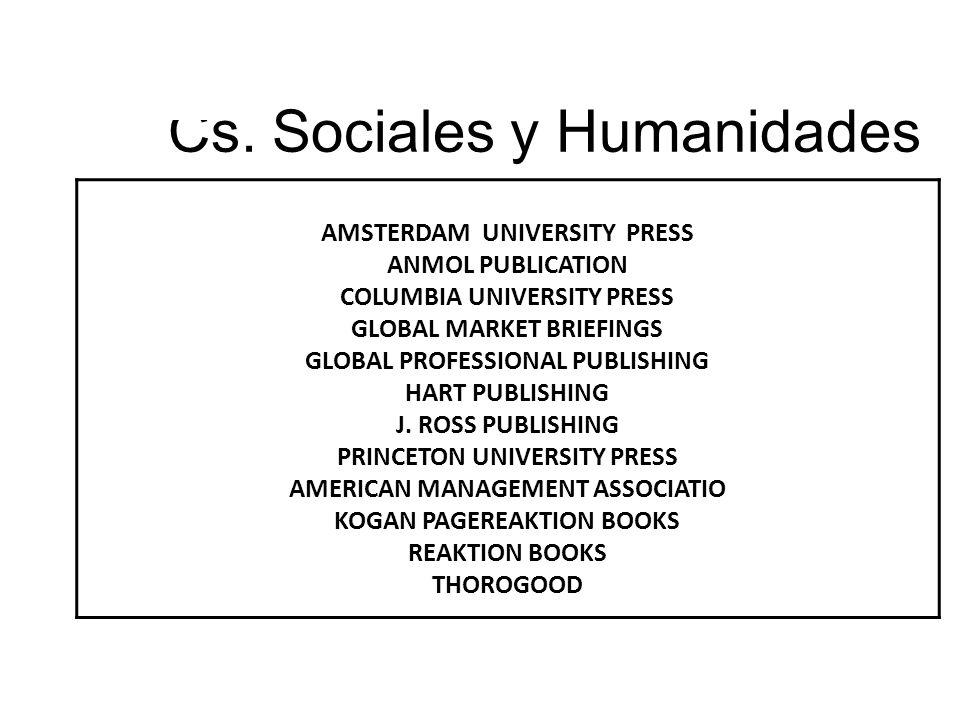 Cs. Sociales y Humanidades