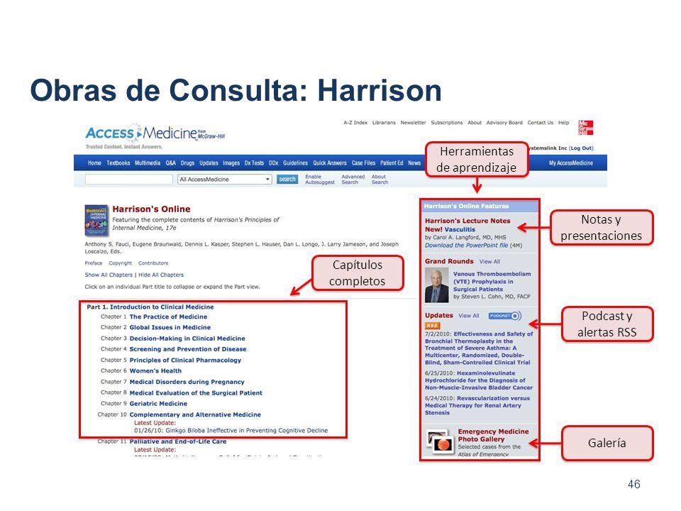 Obras de Consulta: Harrison
