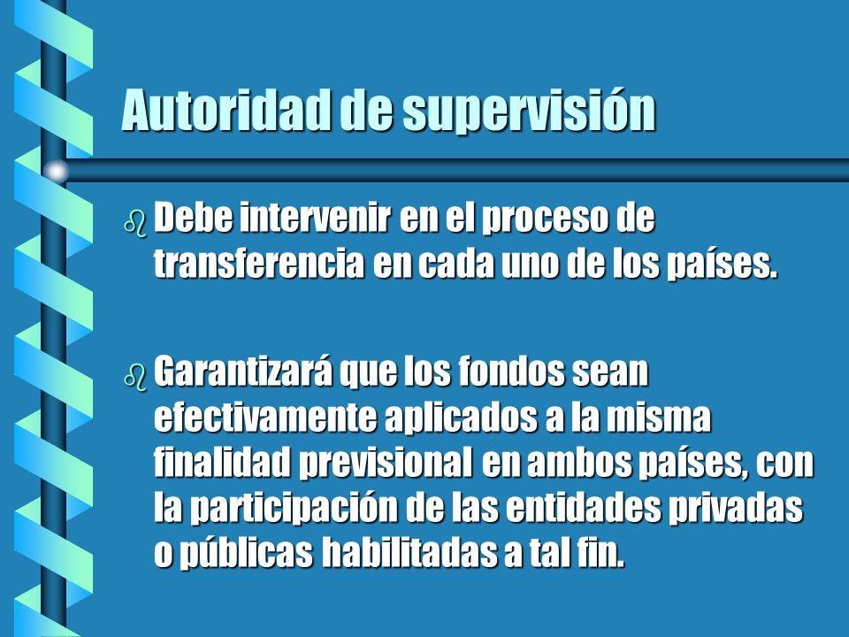 Autoridad de supervisión
