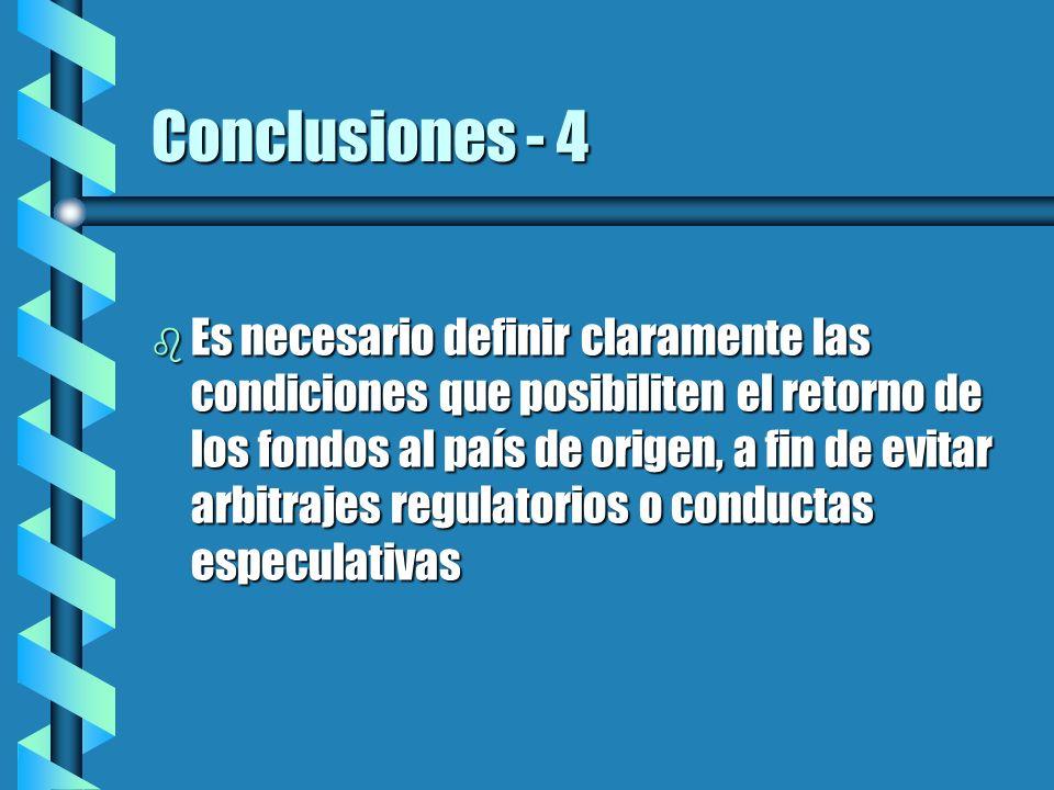 Conclusiones - 4