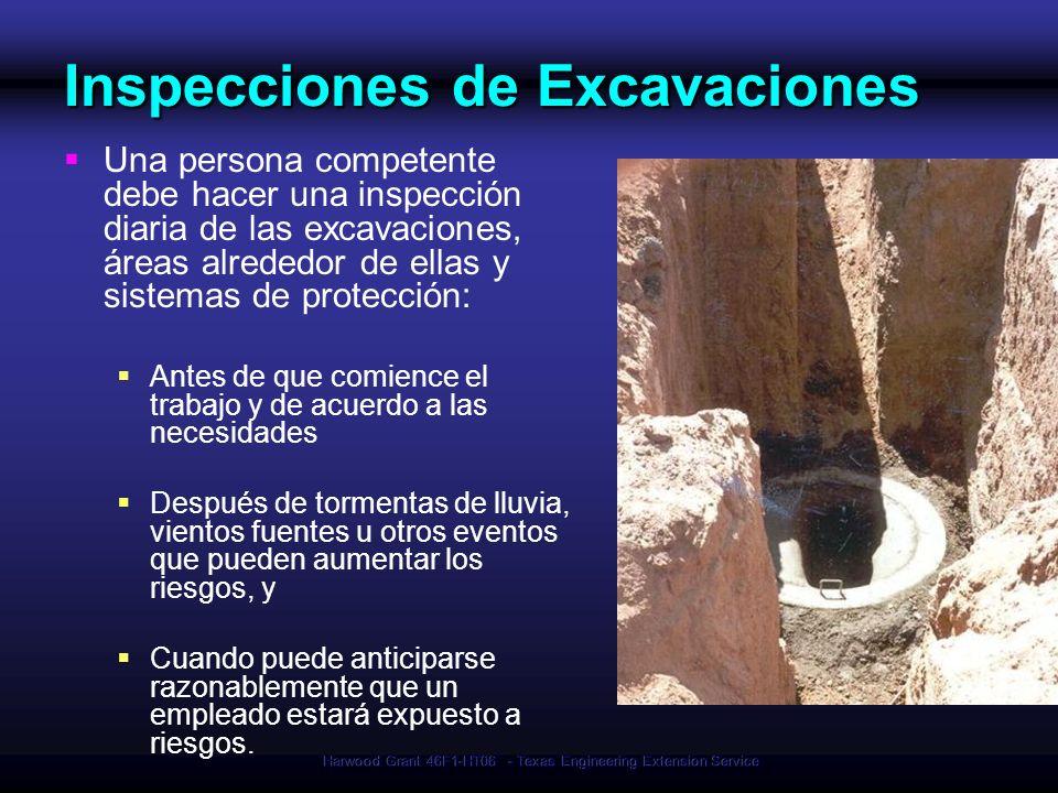Inspecciones de Excavaciones
