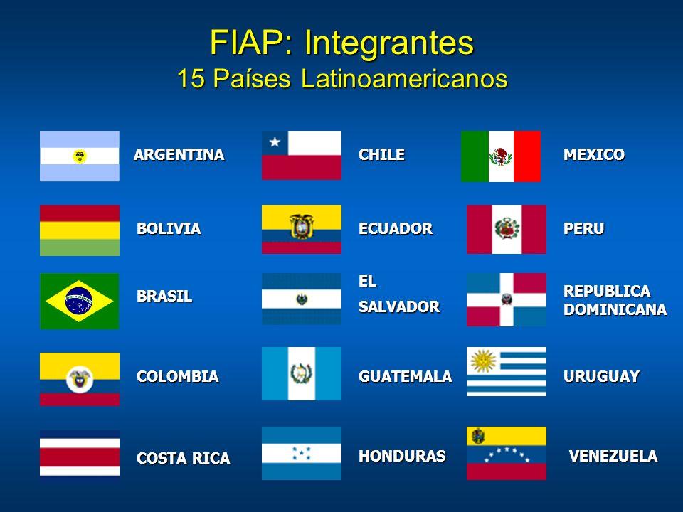 15 Países Latinoamericanos