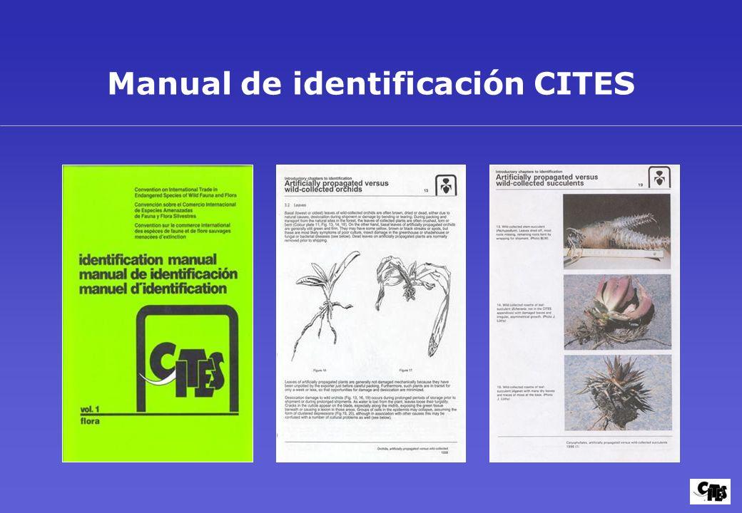 Manual de identificación CITES