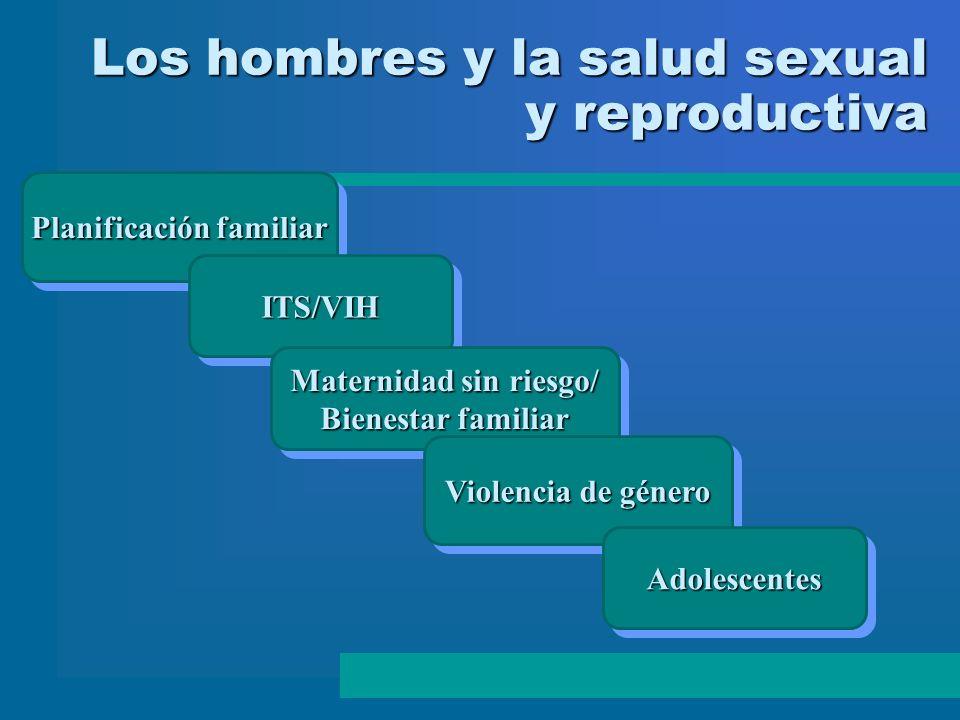 Los hombres y la salud sexual y reproductiva