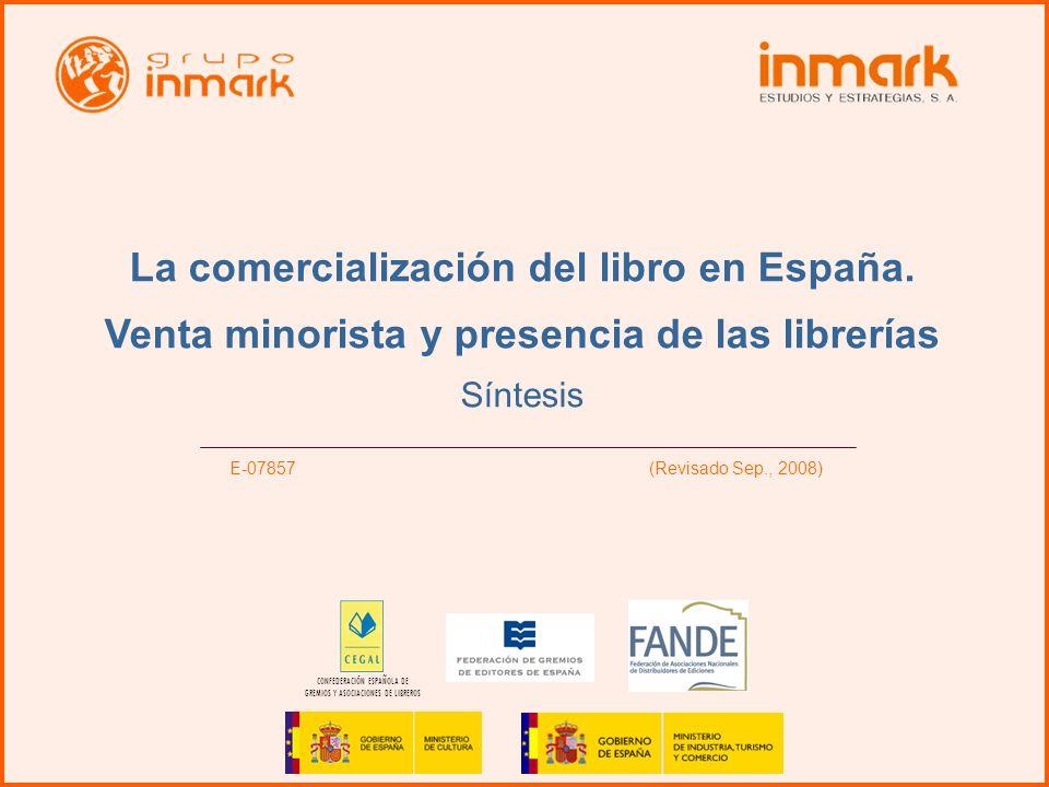 La comercialización del libro en España.