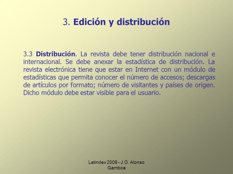 3. Edición y distribución