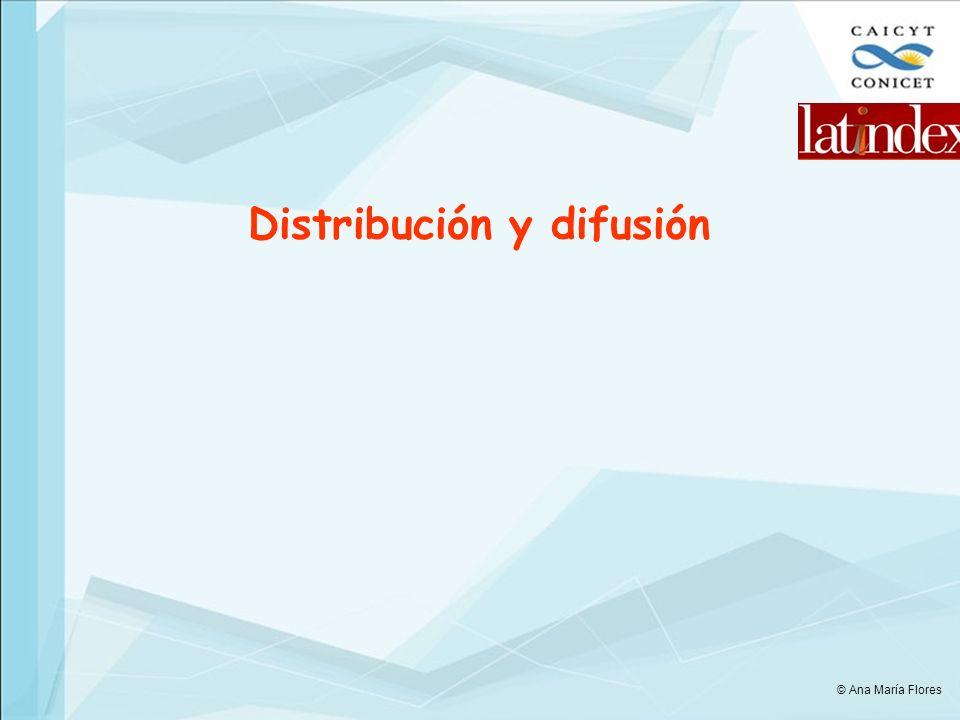 Distribución y difusión