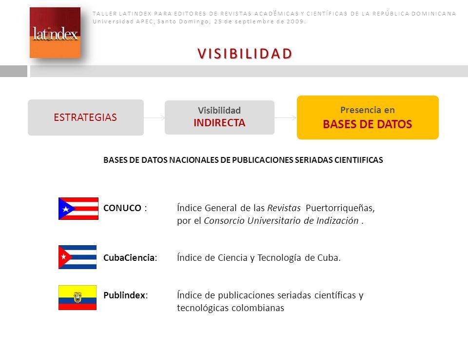 Visibilidad INDIRECTA