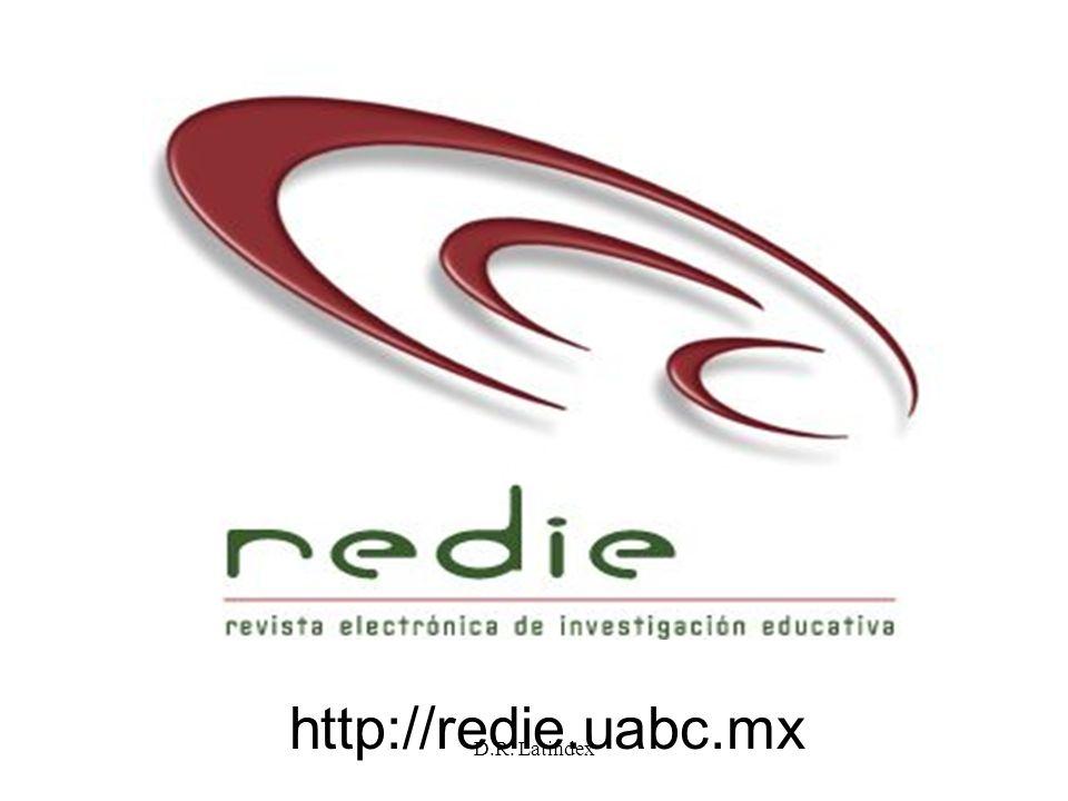 http://redie.uabc.mx D.R. Latindex