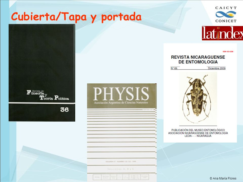 Cubierta/Tapa y portada