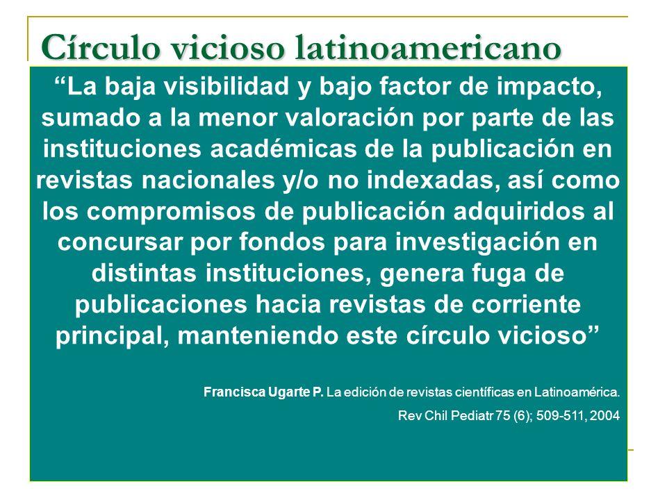 Círculo vicioso latinoamericano